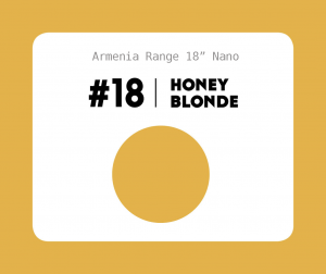 #18 Honey Blonde – 18″ - 1 gram – Nano (25 strands per packet)