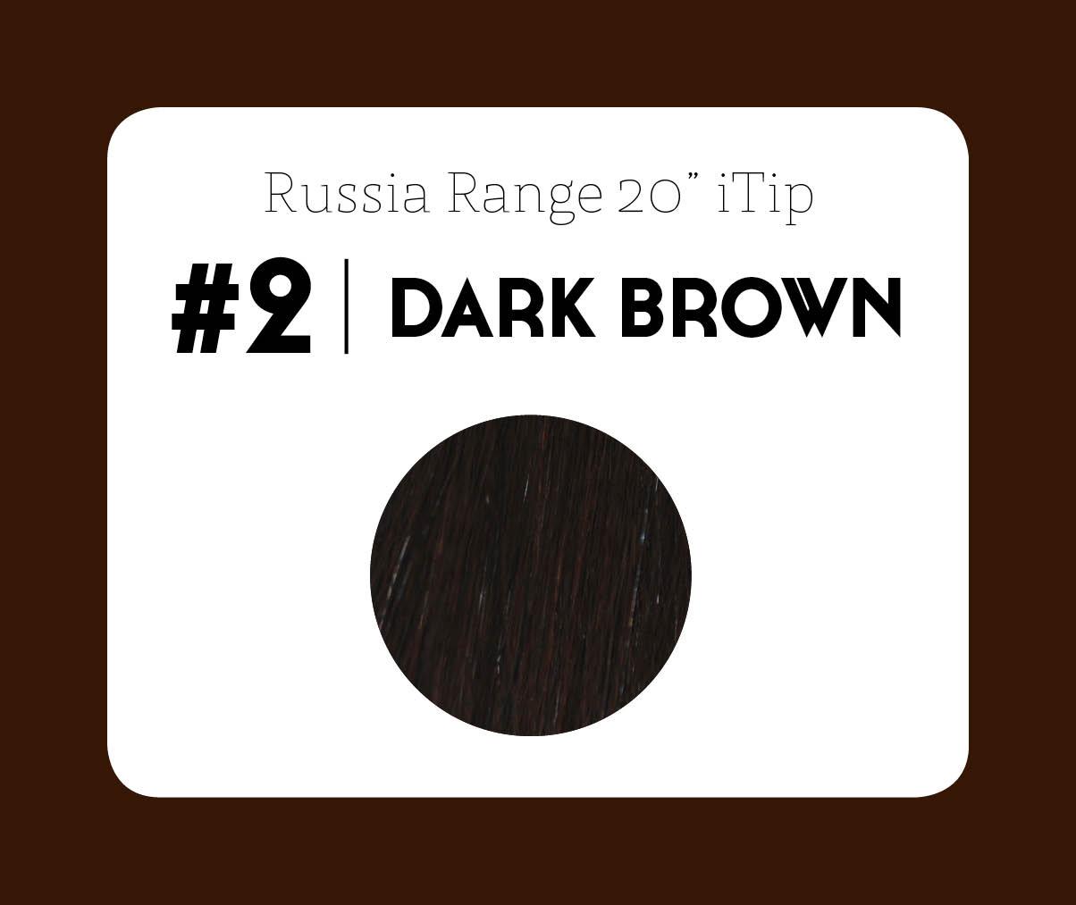 #2 Dark Brown – 20