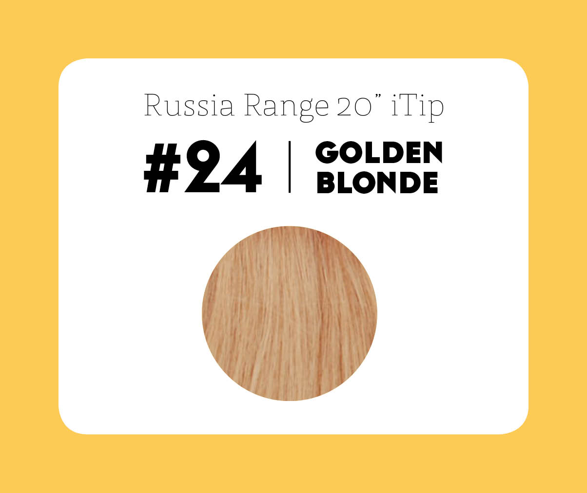 #24 Golden Blonde – 20