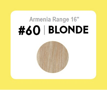 #60 Blonde – 16″- 1 gram – Nano (25 strands per packet)