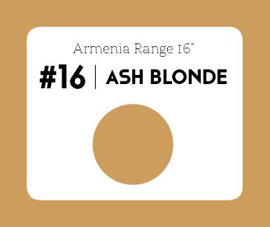 #16 Ash Blonde – 18″- 1 gram – iTip - Armenia Range