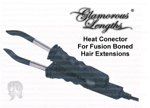 10x Stylish Hair Extensions Fusion Heat Connector (GL)