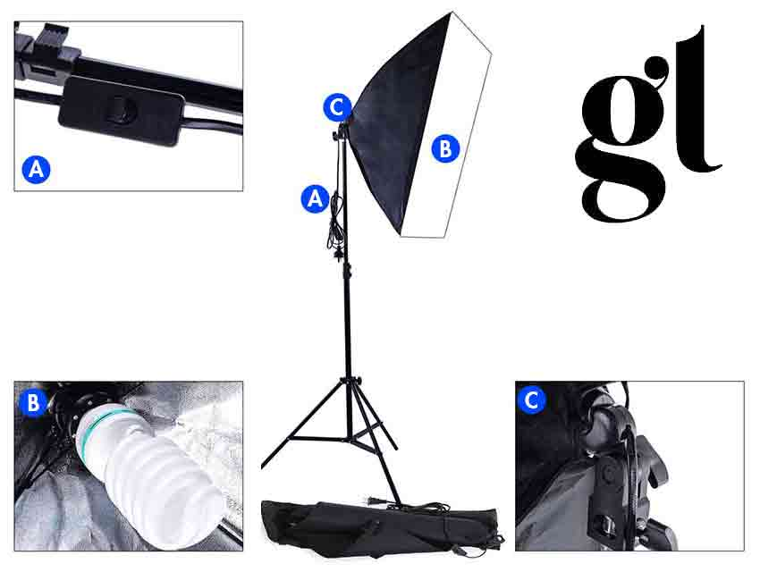 Photography Soft Box Lighting Kit