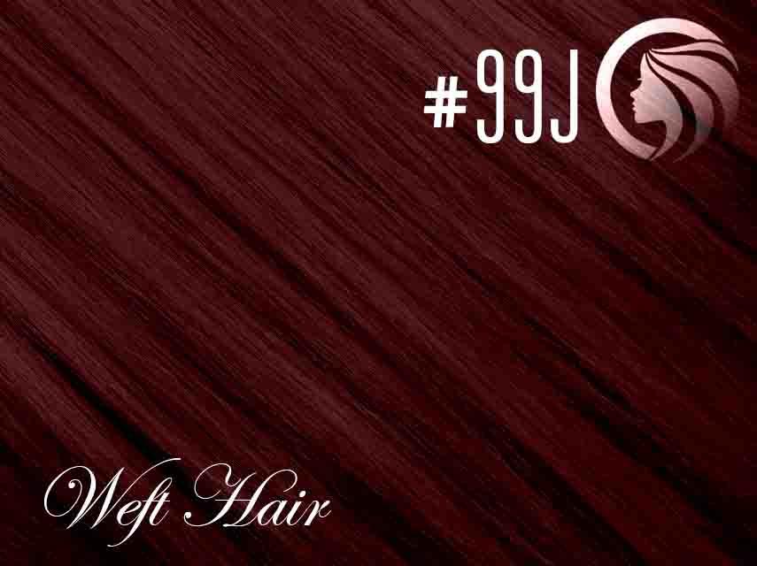 #99J Burgundy – 18″ – 120 gram – Athena Weft