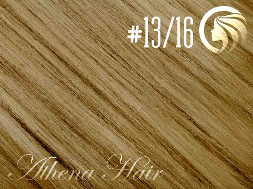 #13/16 Light Golden Brown/Ash Blonde – 18″ – 1 gram – iTip – Athena (25 strands per packet)