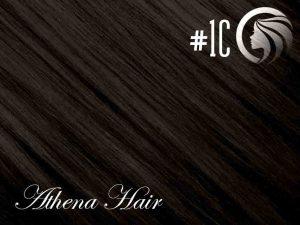 #1C Espresso Brown – 18″ – 0.5 gram – uTip – Athena (50 strands per packet)