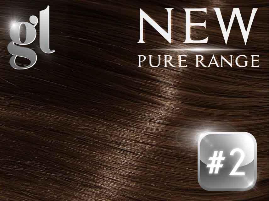 #2 Dark Brown - (NEW* Nano tip) - 18