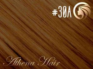 #30A Copper Brown – 18″ – 1 gram – Nano Tip – Athena (25 strands per packet)