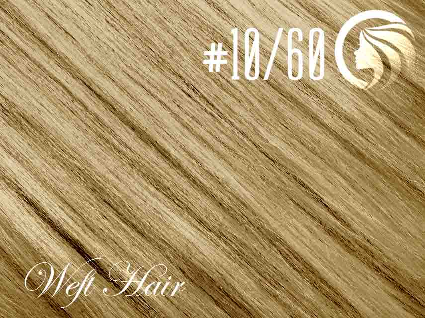 #10/60 Medium Golden Brown/Blonde – 18″ – 120 gram – Athena Weft