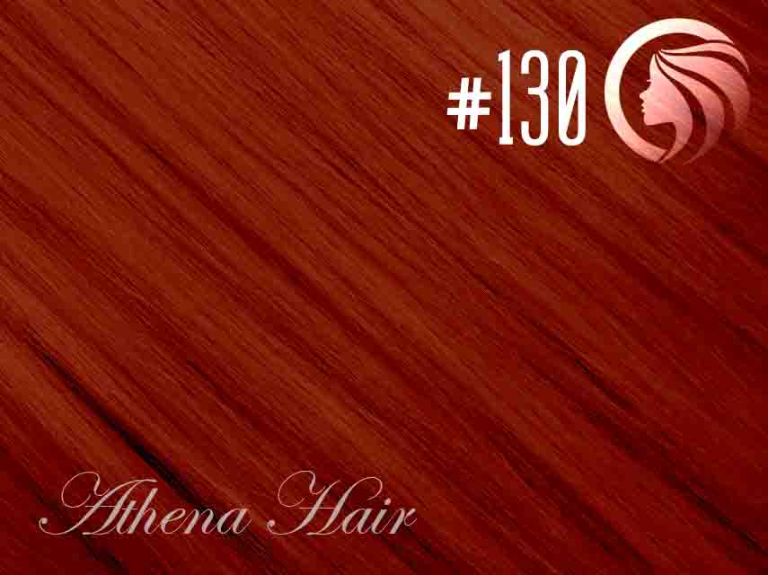 #130 Red – 18″ – 0.5 gram – iTip – Athena (50 strands per packet)