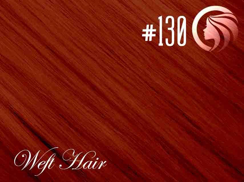#130 Red – 18″ – 120 gram – Athena Weft