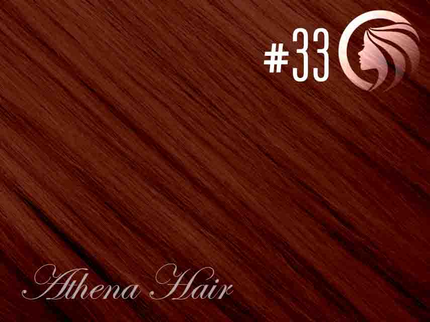 #33 Copper Red – 18″ – 0.5 gram – iTip– Athena (50 strands per packet)