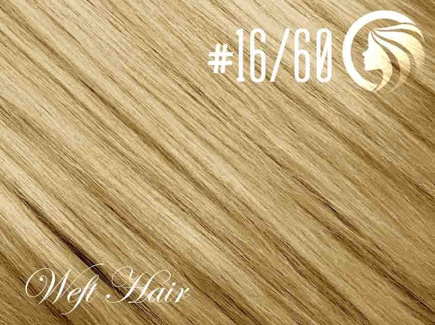 #16/60 Ash Blonde/Blonde – 18″ – 120 gram – Athena Weft