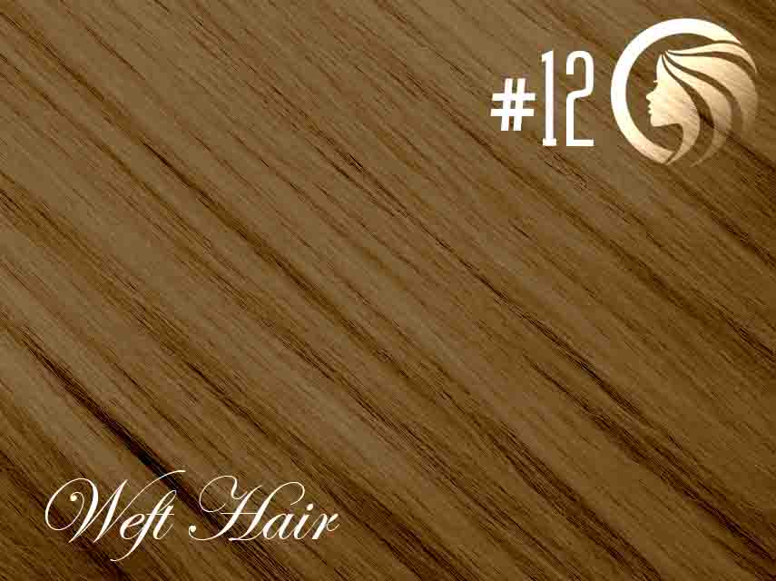 #12 Mixed Blonde/Brown – 18″ – 120 gram – Athena Weft
