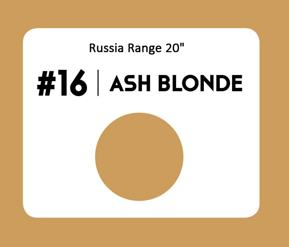 #16 Ash Blonde – 20