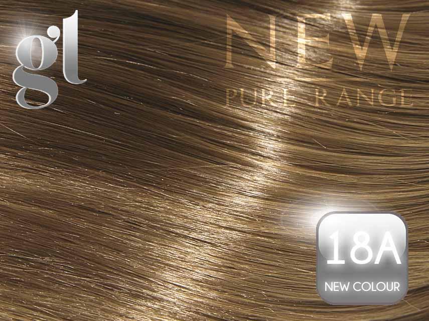 #18A (New Colour) – 20″ - 0.8 gram – uTip - Pure Range (25 Strands)
