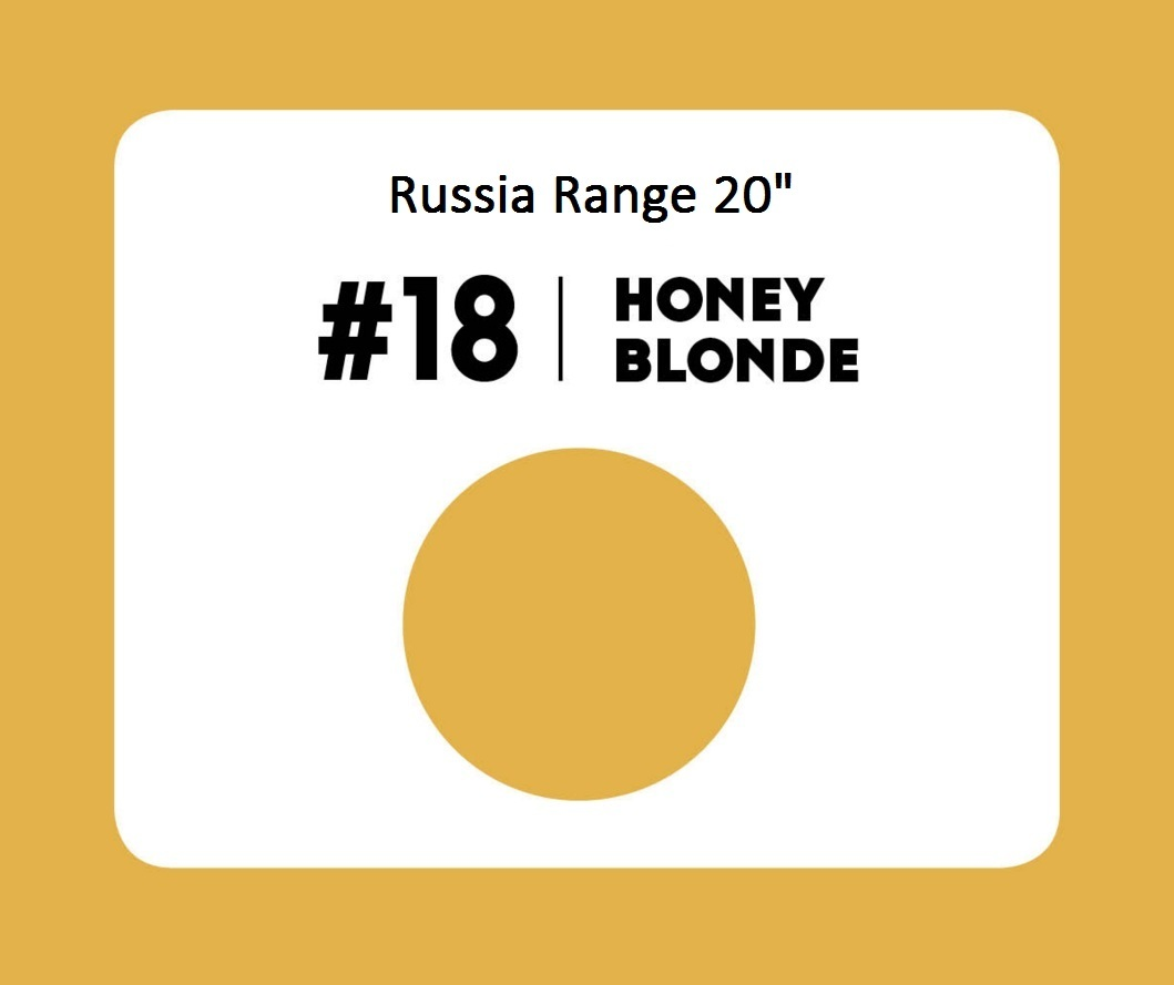 #18 Honey Blonde – 20