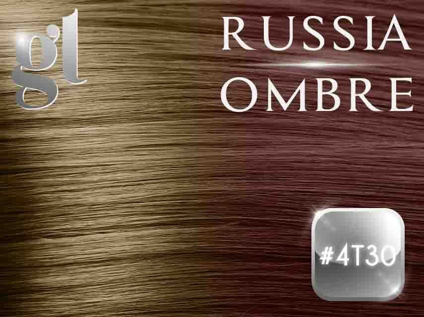 #4T30 Chocolate Brown/Light Auburn – 18