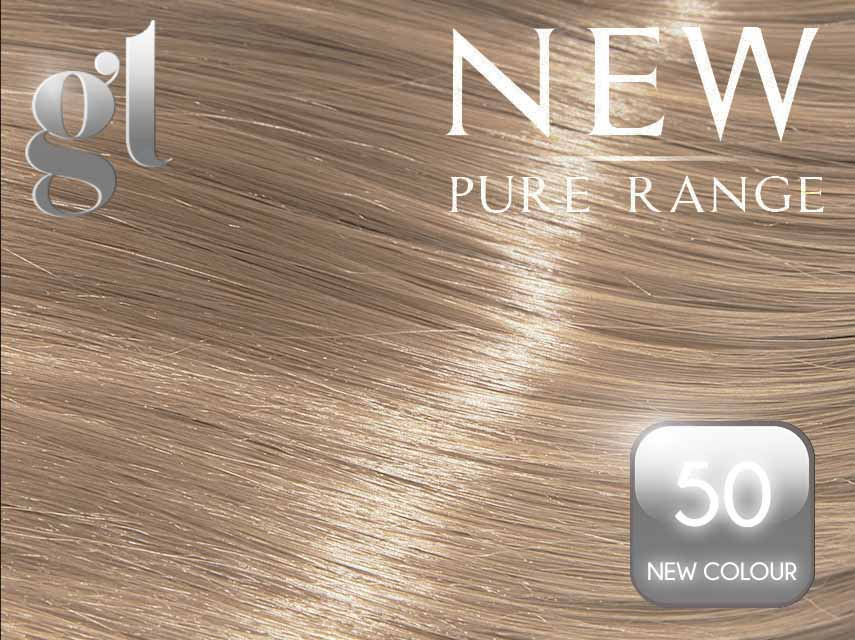 #50 (New Colour) – 20″ - 0.8 gram – iTip - Pure Range (25 Strands)