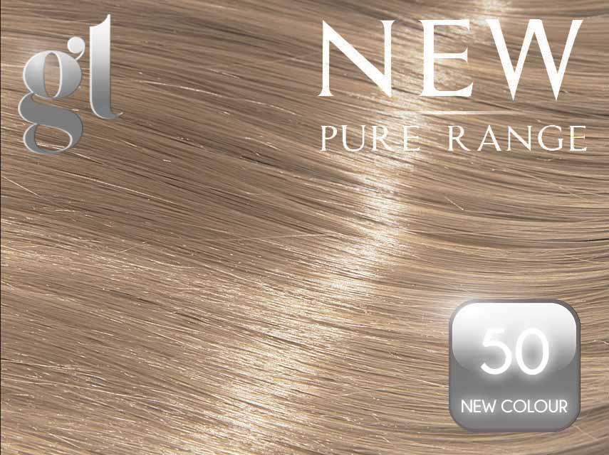 #50 (New Colour) – 20″ - 0.8 gram – iTip - Pure Range (25 Strands)