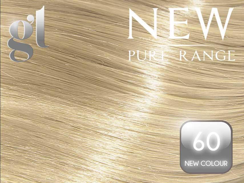 #60 Blonde – 20″ - 0.8 gram – iTip - Pure Range (25 Strands)