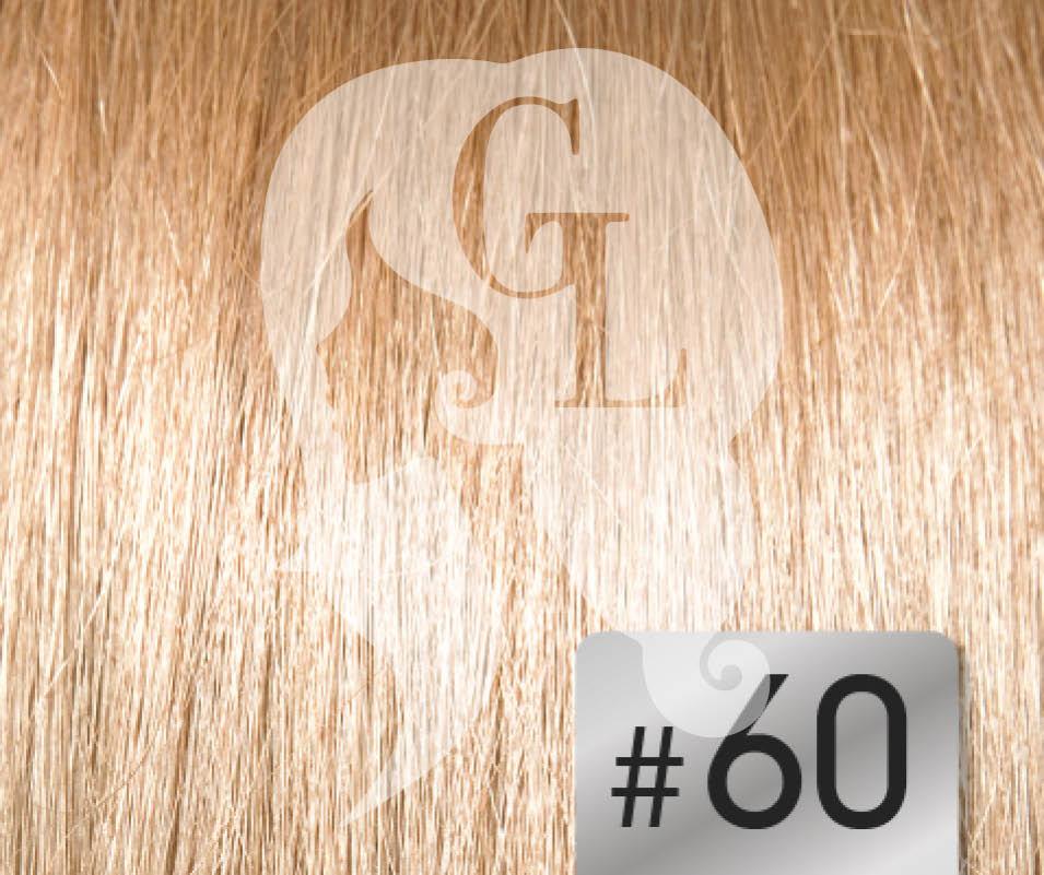 #60 Blonde – 20″ – 120grams – Weft Russia Range