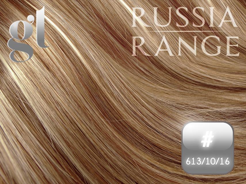 #613/10/16 Blonde/Medium Golden Brown/Ash Blonde - 20