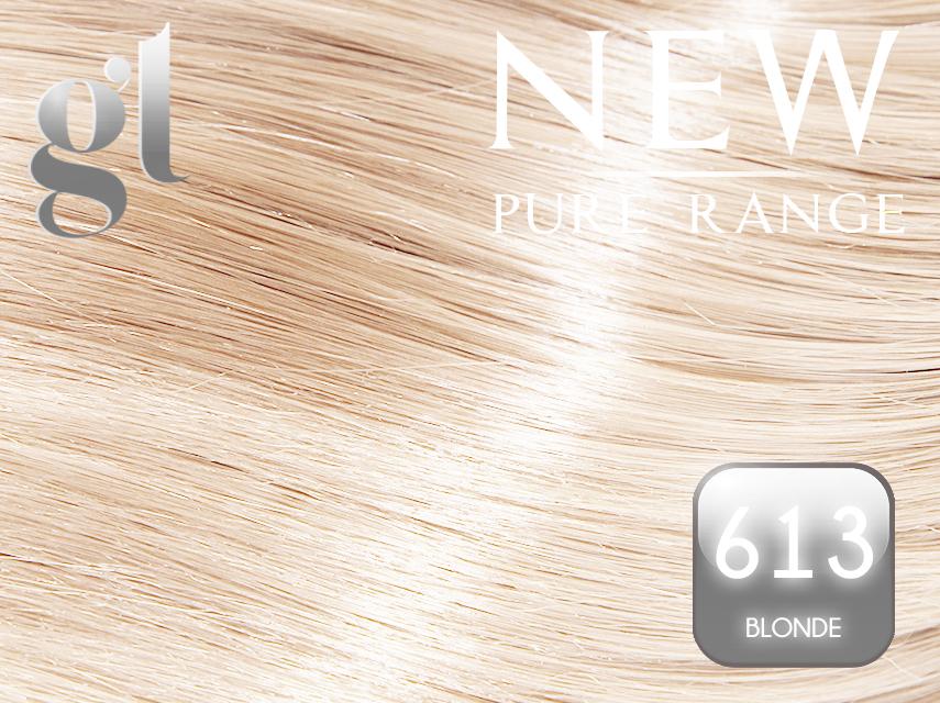 #613 Blonde – 20″ - 0.8 gram – Nano Tip - Pure Range (25 Strands)
