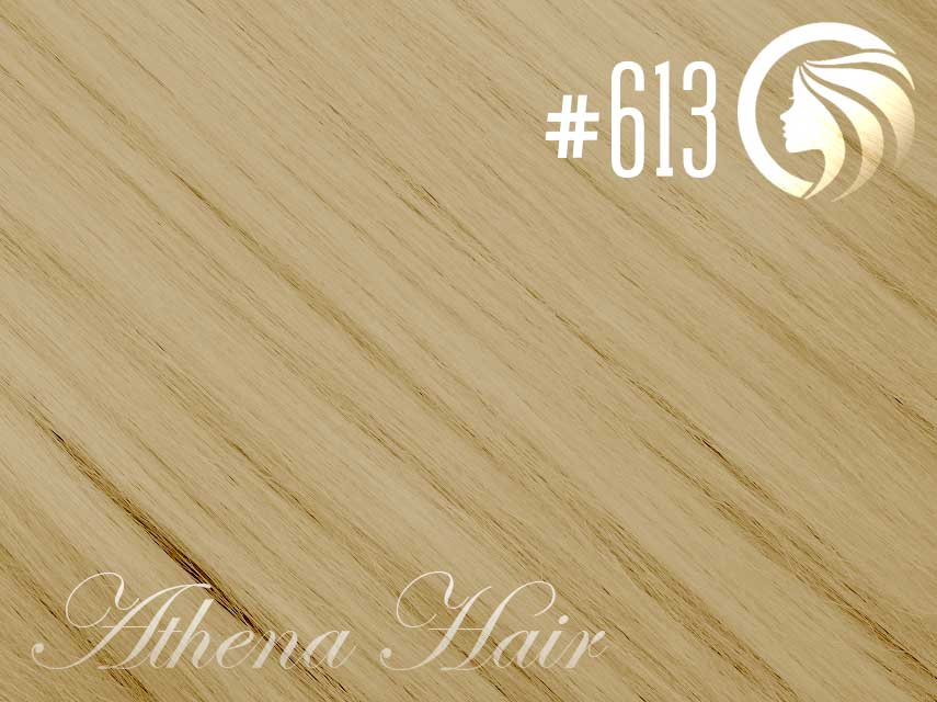 #613 Blonde – 18″ – 0.5 gram – iTip – Athena (50 strands per packet)