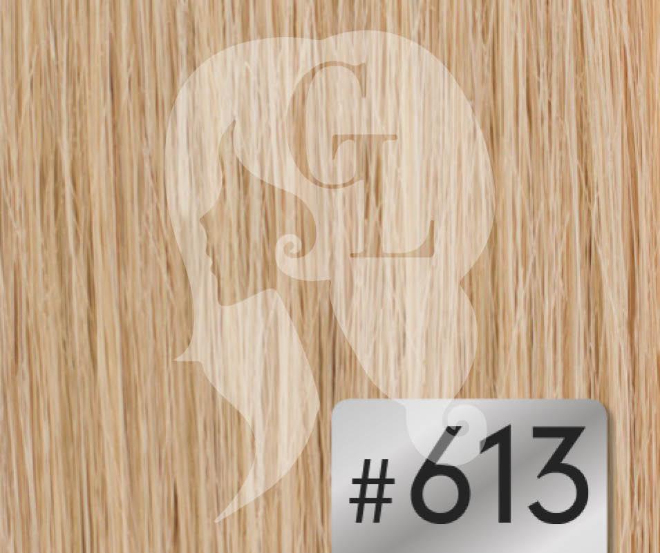 #613 Blonde – 20″ – 120grams – Weft Russia Range