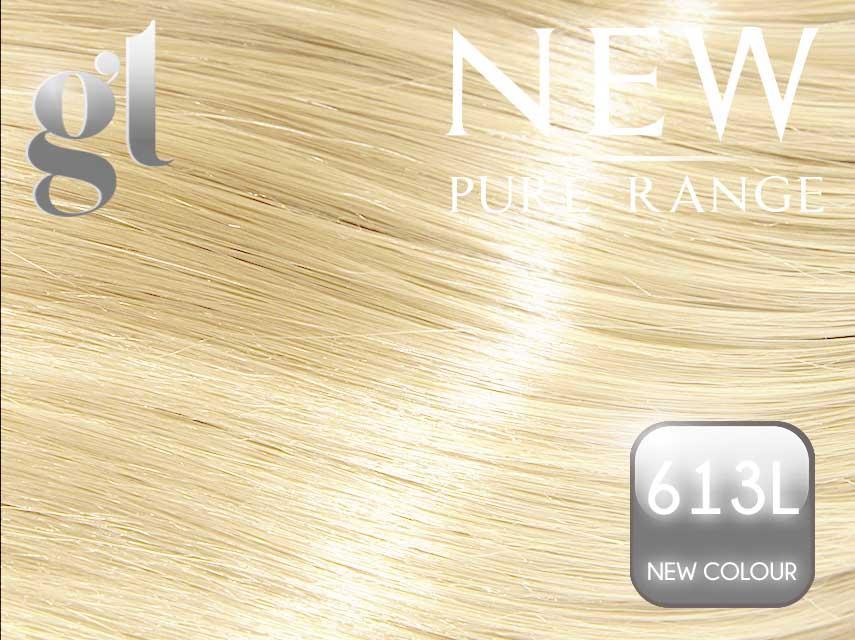 #613L (New Colour) – 20″ - 0.8 gram – uTip - Pure Range (25 Strands)