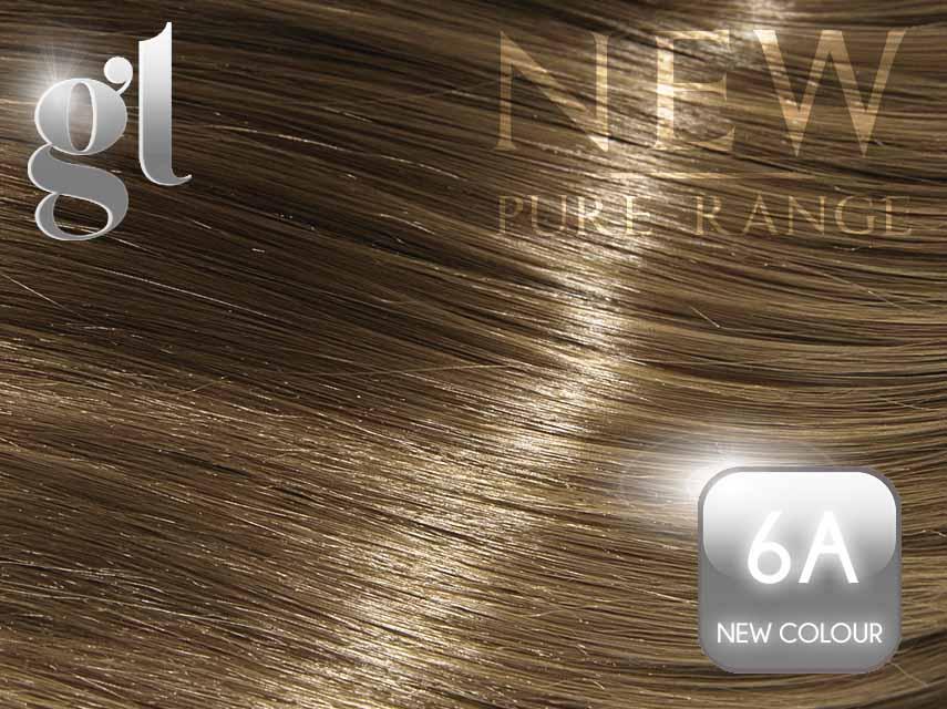 #6A (New colour) – 20″ - 0.8 gram – uTip - Pure Range (25 Strands)