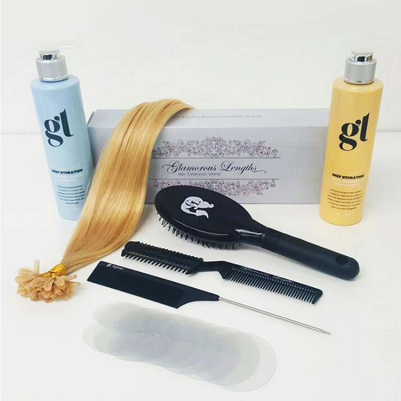 Fusion Bonded Hair Extensions Kit