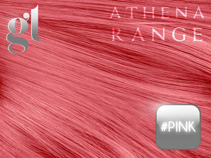 #Pink– 18″ – 0.5 gram – I Tip – Athena Range (50 strands per packet)