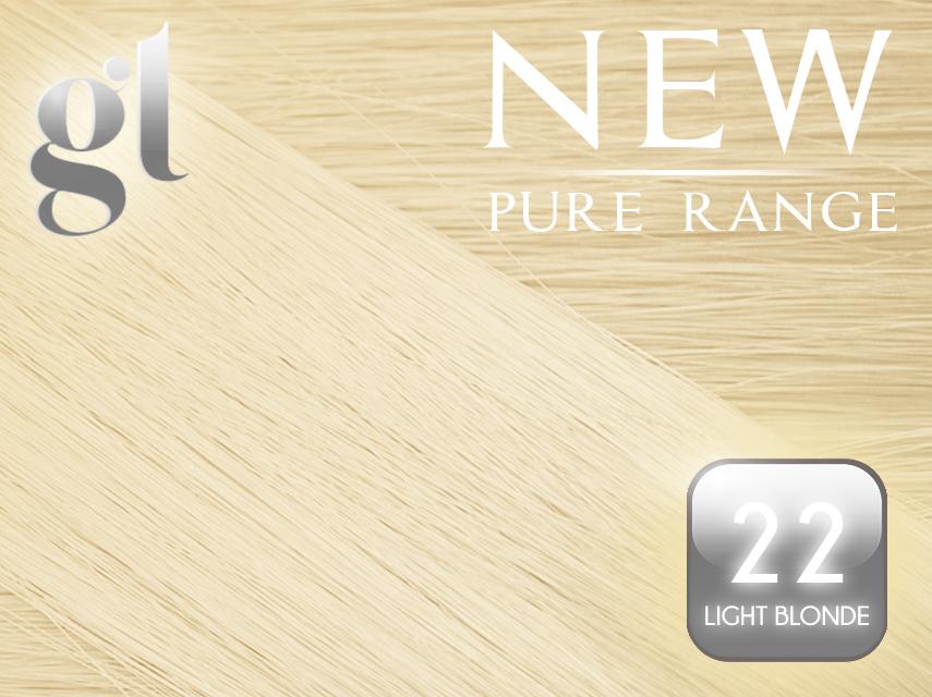 #22 Light Neutral Blonde – ITip – 20″ – 0.8 gram – (25 Strands)