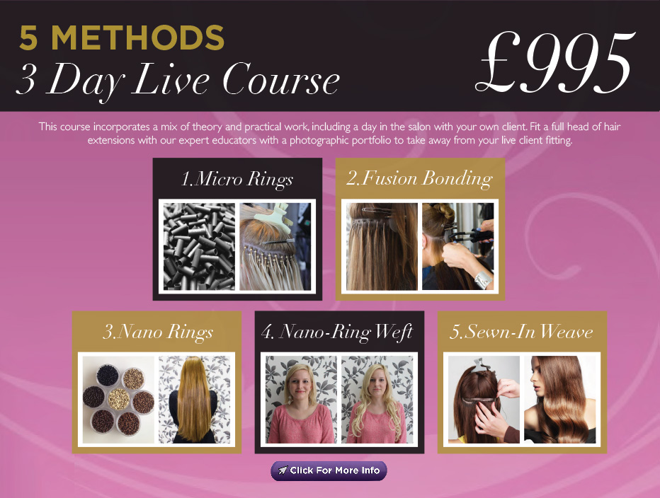 Hair Extension Courses Fully Accredited Insurance Approved By
