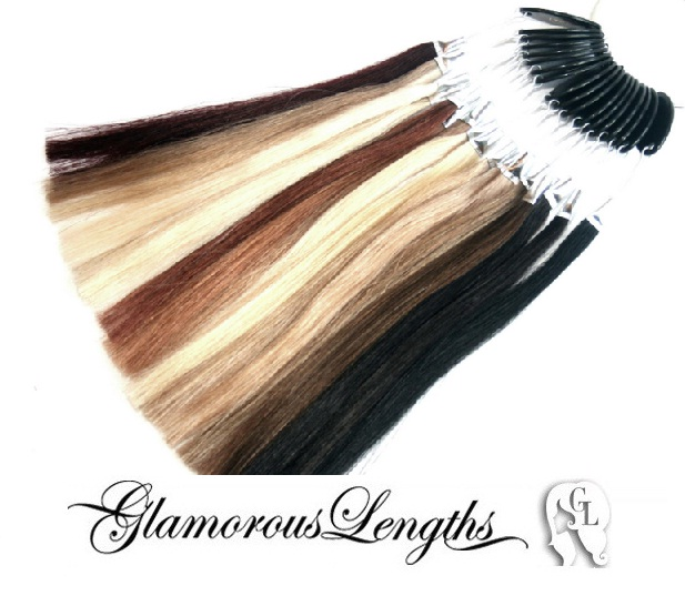 Glamorous Lengths Remy Human Hair Colour Ring