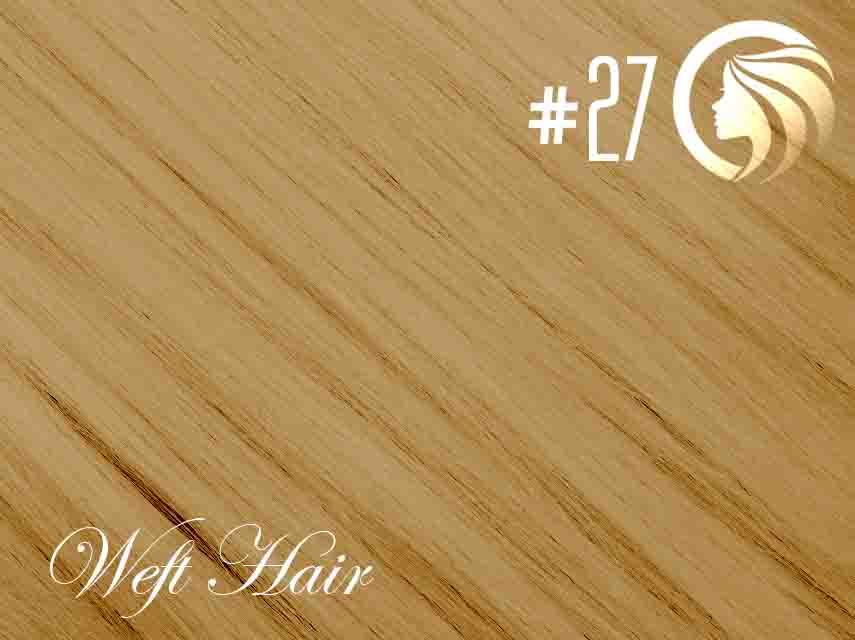 #27 Strawberry Blonde – 18″ – 120 gram – Athena Weft