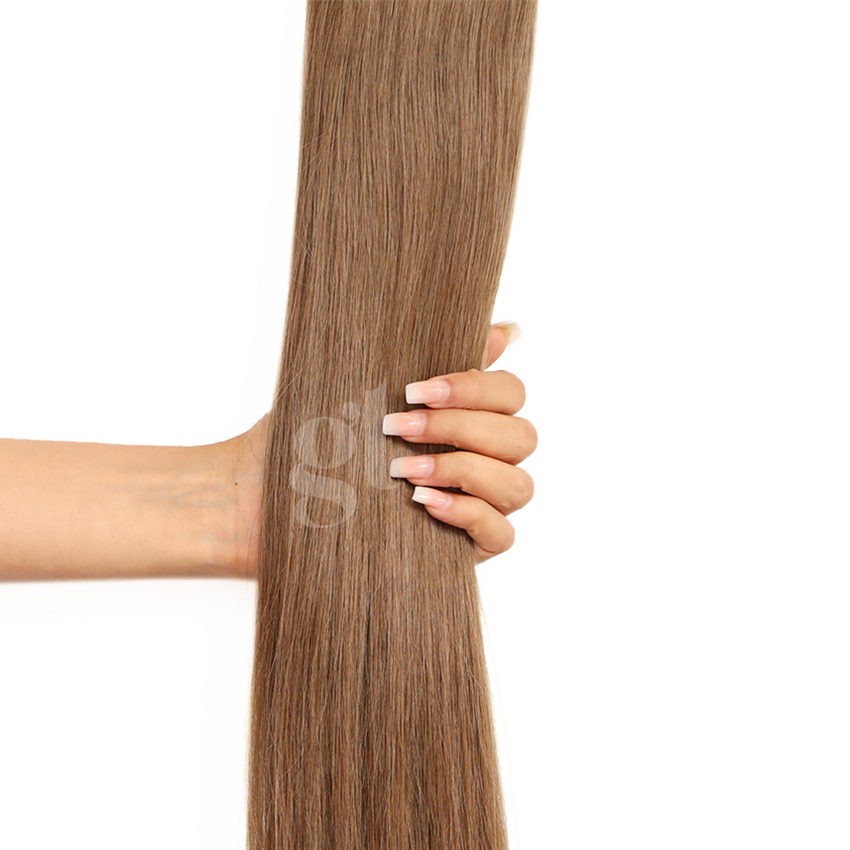*NEW* #10 Medium Golden Brown Straight Ponytail 150g 26inch HairNova