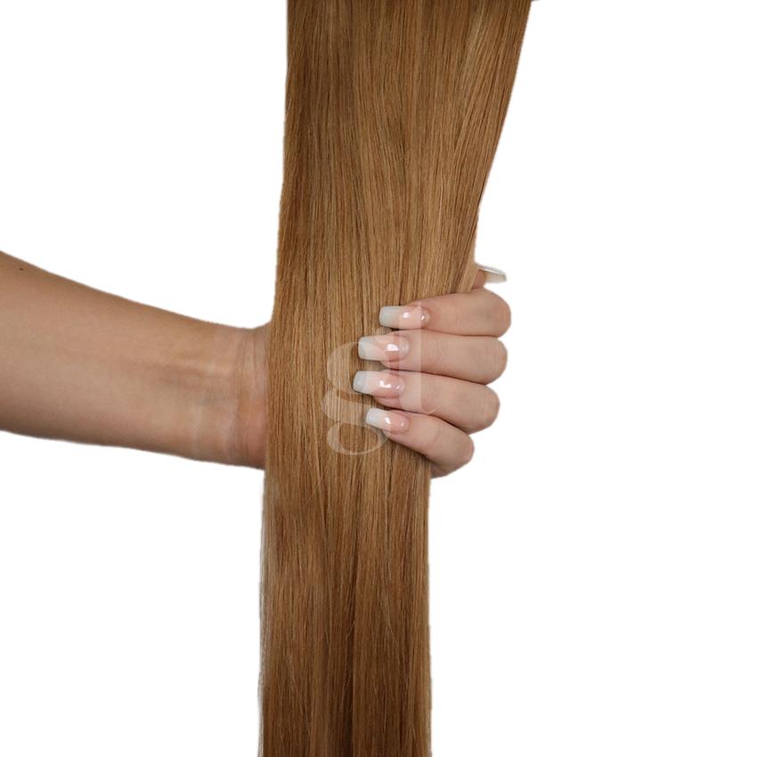 *NEW* #13/16 Light Golden Brown/Ash Blonde  – 18″ – 60g – 24pcs – Athena Tape Hair
