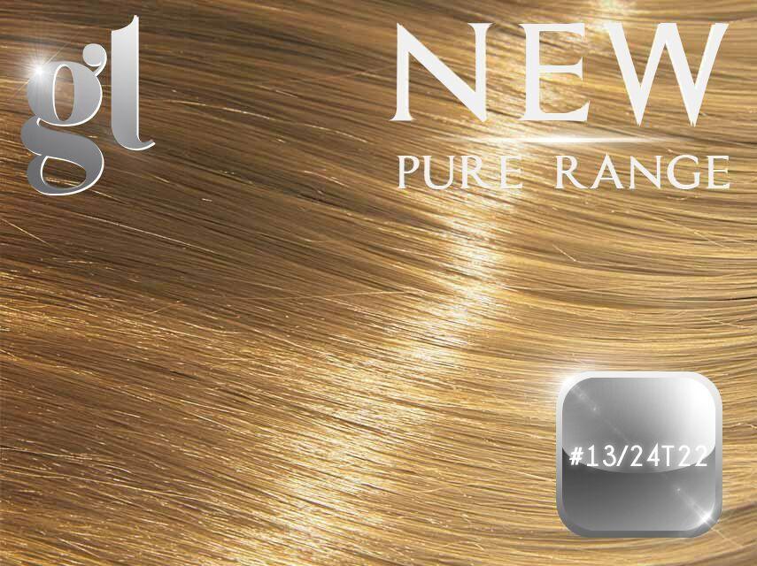 #13/24T22 California Blonde - Nano tip – 20″ - 0.8 gram – Pure Range Balayage (25 Strands)