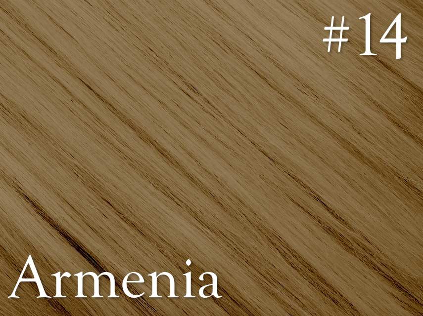 #14 Dark Blonde – 20″ – 1 gram – Nano (25 strands per packet) -  Armenia Range - NO EXCHANGE / NO REFUNDS CLEARANCE SALE