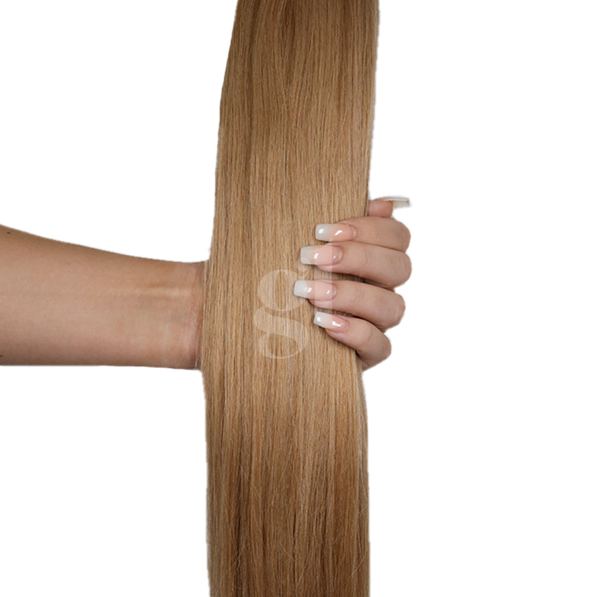 #14 Dark Blonde – 22″ – 60g – 24 Pieces – Athena Tape Hair