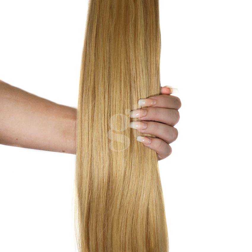 *SALE* #18/22 Honey Blonde/Light Neutral Blonde – 18″ – 0.5g – iTip – Athena (50 strands)