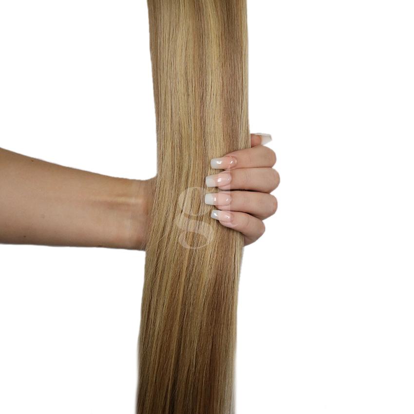 #18A/22 Ash Honey Blonde/Light Neutral Blonde – 22″ – 60g – 24pcs – Athena Tape