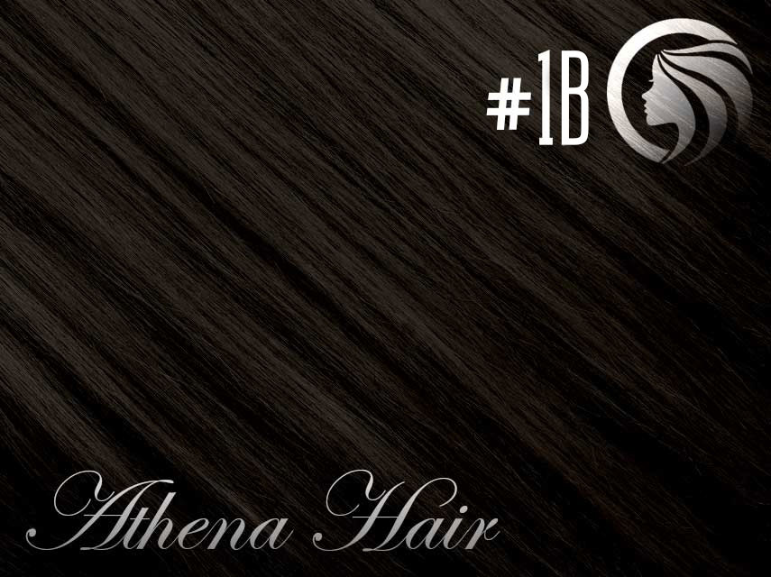 *NEW* #1B Off Black – 18″ – 120g – 5 Pieces – Clip Ins Athena Range