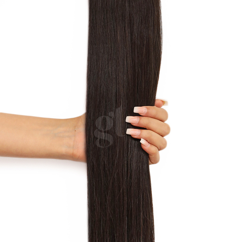 *NEW* #1c Espresso Brown Straight Ponytail 150g 26inch HairNova