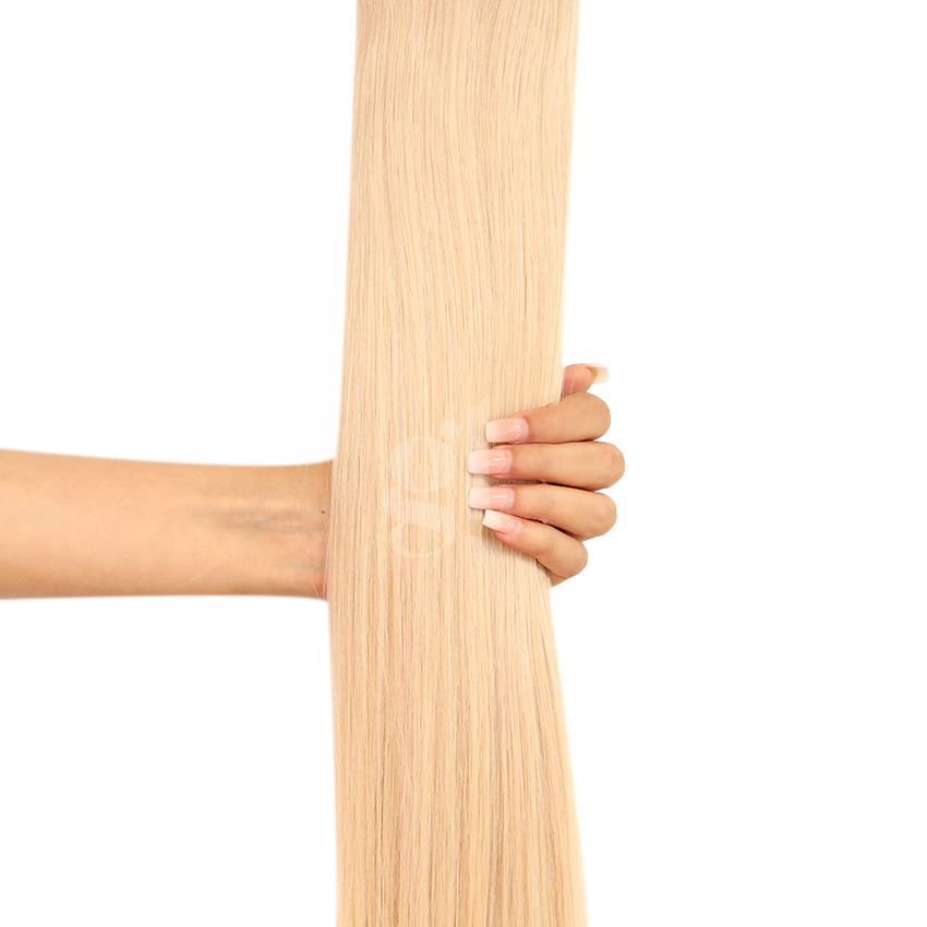 *NEW* #22 Light Neutral Blonde – 22″ – 300g – 10 Pieces – GL Seamless Remy Clip Ins