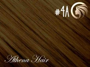 #4A Ash Chocolate Brown – 18″ – 0.5 gram – uTip – Athena (50 strands per packet)