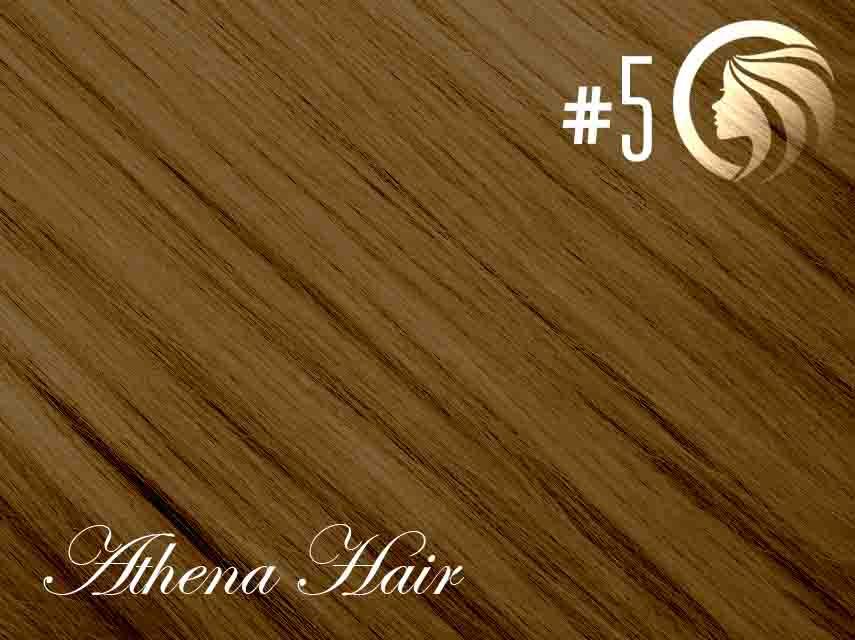 #5 Medium Ash Brown – 18″ – 1g – Nano Tip – Athena (25 strands)